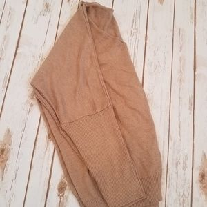 Sweaters - Cashmere Camel Slouchy Dolman Sleeve Sweater